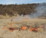 п.Ола локализация пожара на полях (учения) 2018г.