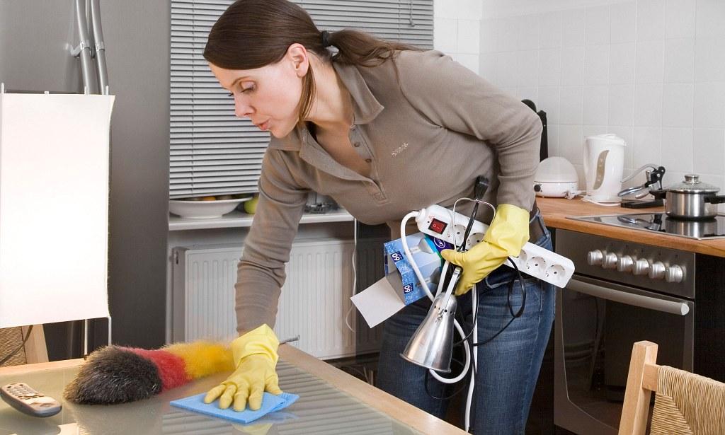 как сделать уборку в грязном небольшом помещении